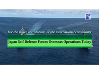 Japan Self-Defense Forces Overseas Operations Today