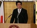 安倍内閣総理大臣年頭記者会見【手話版】-平成26年1月6日