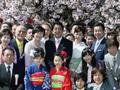 総理主催「桜を見る会」の開催-平成26年4月12日