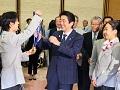 ソチオリンピック競技大会並びにパラリンピック競技大会入賞者に対する記念品贈呈式-平成26年4月25日