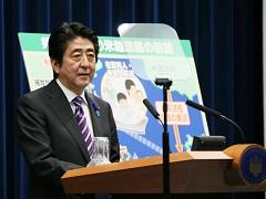 安倍内閣総理大臣記者会見【手話版】-平成26年7月1日