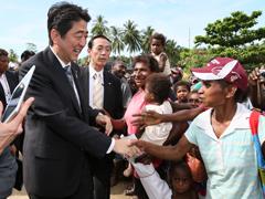 パプアニューギニア訪問(2日目)-平成26年7月11日
