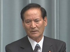 第2次安倍改造内閣閣僚記者会見「西川公也大臣」