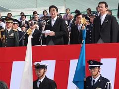 防衛省・自衛隊60周年記念航空観閲式 安倍内閣総理大臣 訓示-平成26年10月26日