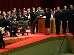 防衛大学校卒業式-平成27年3月22日
