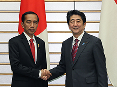 日・インドネシア首脳会談等-平成27年3月23日