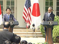 日米共同記者会見-平成27年4月28日(現地時間)