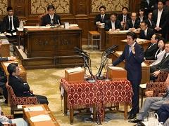 国家基本政策委員会両院合同審査会(党首討論)-平成27年5月20日