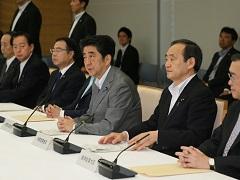 原子力災害対策本部会議-平成27年6月12日