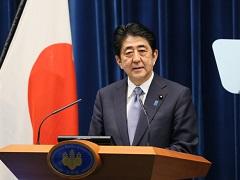 安倍内閣総理大臣記者会見【手話版】-平成27年8月14日