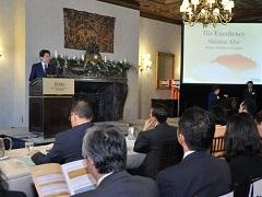 対日投資セミナー 安倍総理挨拶-平成27年9月28日