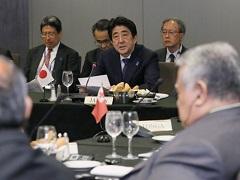 日・太平洋島嶼国首脳会合 安倍総理挨拶-平成27年9月28日