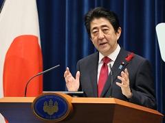 安倍内閣総理大臣記者会見-平成27年10月6日