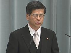 第3次安倍改造内閣閣僚記者会見「石井啓一大臣」