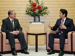 全中等JAグループとの面会-平成27年12月25日