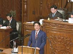 第190回国会における安倍内閣総理大臣施政方針演説-平成28年1月22日