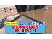 徳光・木佐の知りたいニッポン!~知っておきたい!電力小売全面自由化 家庭も電力会社を選べる時代へ!