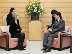 ビショップ・オーストラリア外務大臣による表敬-平成28年2月16日