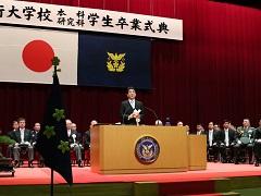 平成27年度 防衛大学校卒業式 内閣総理大臣訓示-平成28年3月21日