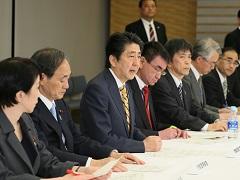 平成28年熊本県熊本地方を震源とする地震非常災害対策本部会議(第1回)-平成28年4月14日