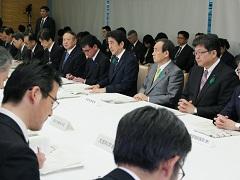 平成28年熊本県熊本地方を震源とする地震非常災害対策本部会議(第12回)-平成28年4月21日