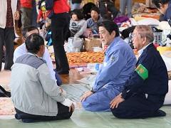 熊本地震による被害状況視察のための大分県及び熊本県下訪問-平成28年4月29日