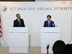 日米共同記者会見-平成28年5月25日