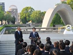 広島訪問 日米両首脳によるステートメント-平成28年5月27日