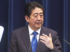 安倍内閣総理大臣記者会見-平成28年6月1日