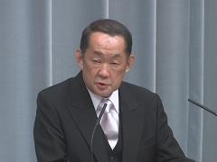 第3次安倍第2次改造内閣閣僚記者会見「金田勝年大臣」
