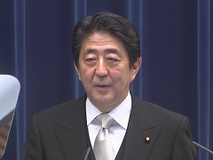 安倍内閣総理大臣記者会見【手話版】-平成28年8月3日