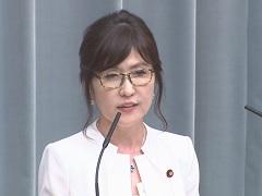 第3次安倍第2次改造内閣閣僚記者会見「稲田朋美大臣」