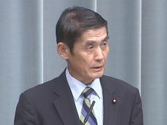 第3次安倍第2次改造内閣閣僚記者会見「今村雅弘大臣」
