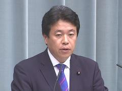 第3次安倍第2次改造内閣閣僚記者会見「鶴保庸介大臣」