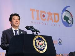 TICAD VI(第6回アフリカ開発会議)開会セッション 安倍総理基調演説-平成28年8月27日