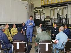 平成28年台風第10号等による被災状況視察のための北海道訪問-平成28年9月14日