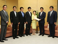 自由民主党「北朝鮮による拉致問題対策本部・外交部会」による申入れ-平成28年9月16日