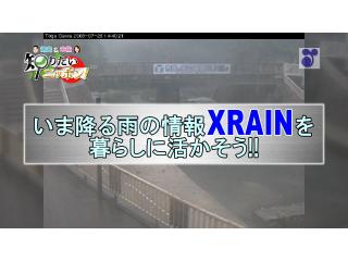 徳光・木佐の知りたいニッポン!~いま降る雨の情報「XRAIN」を暮らしに活かそう