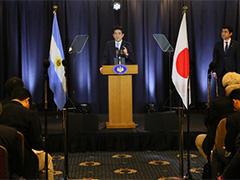 アルゼンチン訪問・APEC首脳会議出席等についての内外記者会見-平成28年11月22日(日本時間)