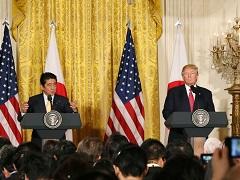 日米共同記者会見-平成29年2月10日