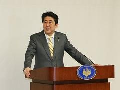 在米日系人リーダー招へい者一行による表敬-平成29年3月7日