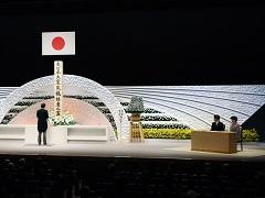 「東日本大震災六周年追悼式」における内閣総理大臣式辞-平成29年3月11日