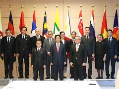 ASEAN各国の経済大臣等による表敬-平成29年4月6日