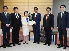 自由民主党「北朝鮮による拉致問題対策本部」による申入れ-平成29年4月12日