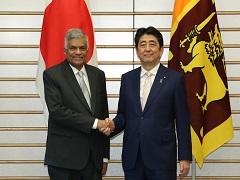 日・スリランカ首脳会談等-平成29年4月12日