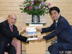 グリアOECD事務総長による表敬-平成29年4月13日