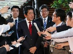 北朝鮮による弾道ミサイル発射事案についての会見-平成29年5月29日