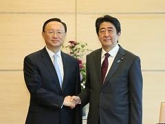 楊潔篪中国国務委員による表敬-平成29年5月31日