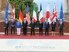 G7タオルミーナ・サミット -1日目--平成29年5月26日