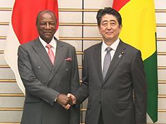 日・ギニア首脳会談等-平成29年6月20日